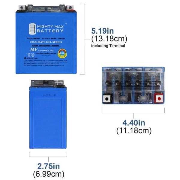 12V 6AH Gel 100CCA Battery Replaces Suzuki DR250S EP ER ES 96-99