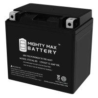 YTX14L-BS – 12V 12AH  200 CCA – SLA Battery