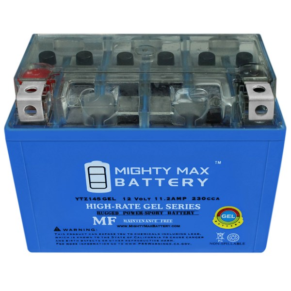 12V 11.2Ah GEL Battery for Honda 680 DN-01 2009-2013