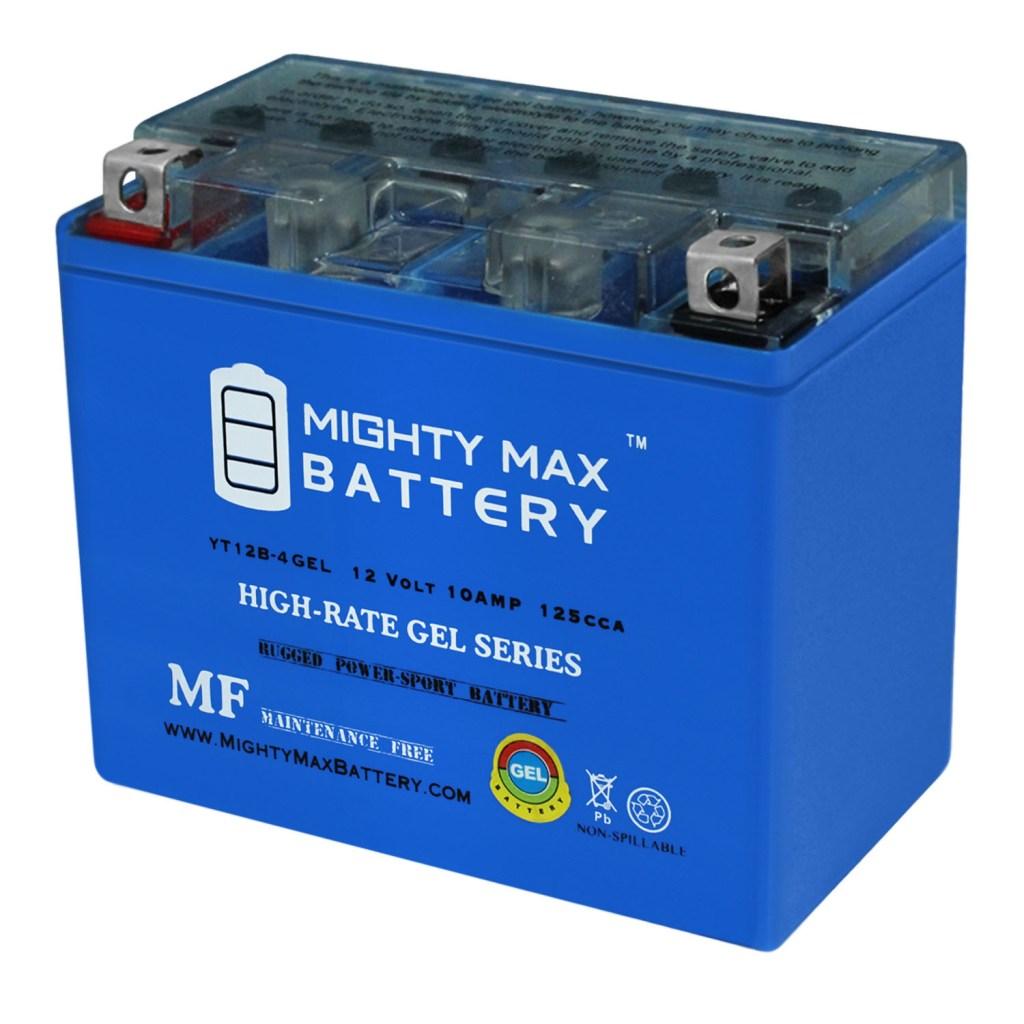YT12B-4 Maintenance Free GEL Motorcycle Battery