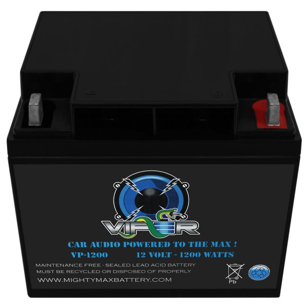 Viper VP-1200 12V 1200 Watt Battery for Cadence CHICAGO