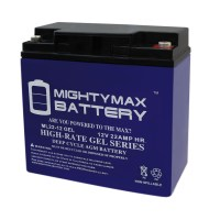 12 VOLT 22 AH GEL BATTERY