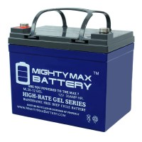 12V 35AH GEL Battery Replacement for Invacare Pronto M41 Wheelchair