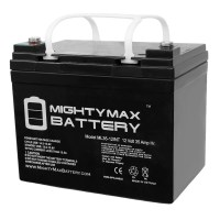 12V 35AH SLA Internal Thread Battery Replaces Renogy PV Solar Panels