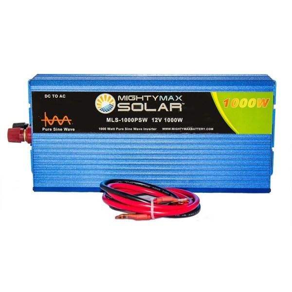 12V 1000 Watt Pure Sine Wave Inverter for Cars