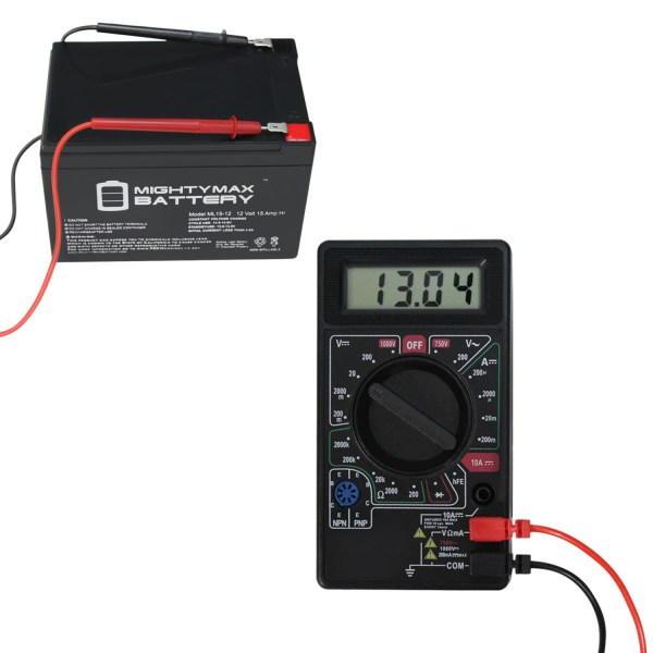 DIGITAL LCD MULTI METER BATTERY TESTER