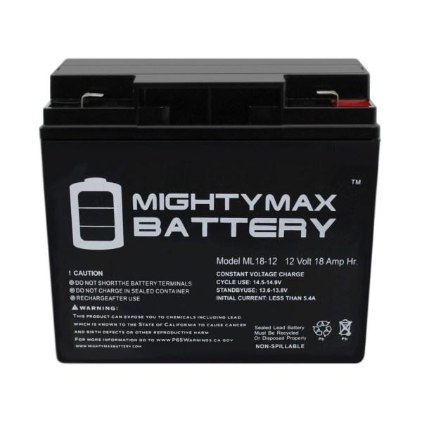 ML18-12 – 12 Volt 18AH F2 SLA Battery