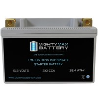 YTR9-BS 12V 210CCA Lithium Iron Phosphate Battery