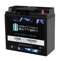 12V 18AH Lithium Battery Replaces Careline A1 Mini II Chair MN 5000