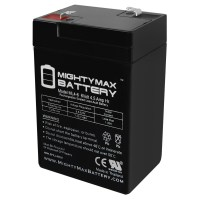 6V 4.5AH SLA Battery Replacement for Omnibot 5402