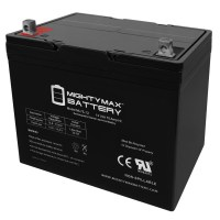 12V 75Ah Battery Replacement for Kansas PEVOverlander Wheelchair