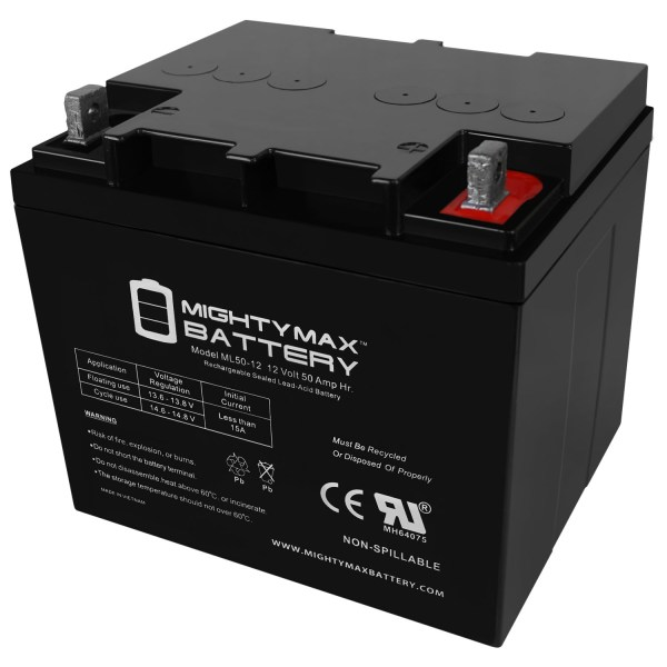 ML50-12 –  12V  50AH SLA BATTERY