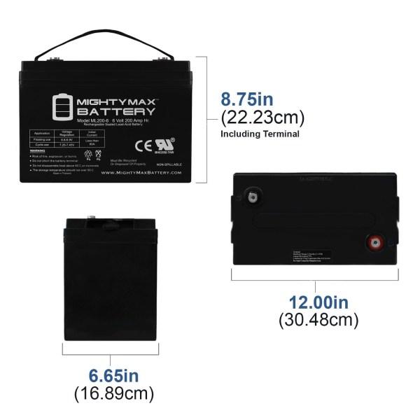 6V 200AH SLA Battery