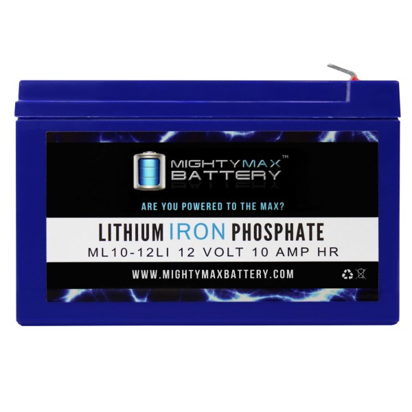 ML10-12LI – 12V 10AH Deep Cycle Lithium Battery