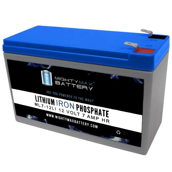 ML7-12LI - 12V 7AH Deep Cycle Lithium Battery