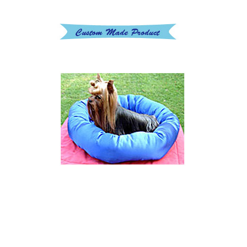 403e3176cc9b Custom Made Round Dog Bed (satin or cotton) - Mighty Mite Dog Gear