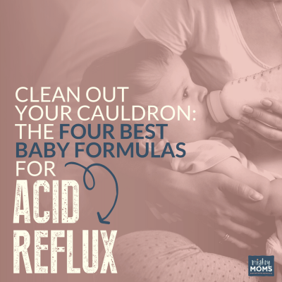 The 4 Best Magic Baby Formulas for Acid Reflux