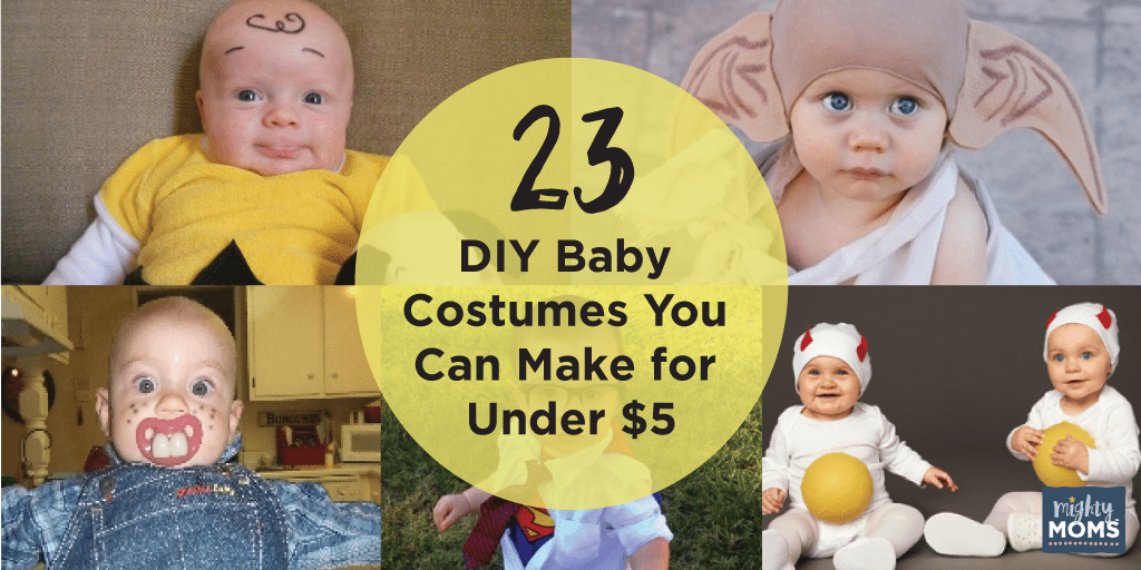 23 DIY Baby Costumes You Can Make for Under $5 ~ MightyMoms.club