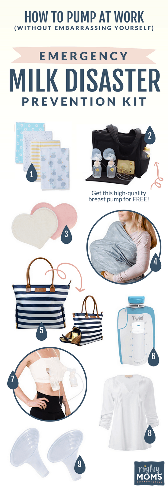 The Working Moms Pumping Survival Kit forecast
