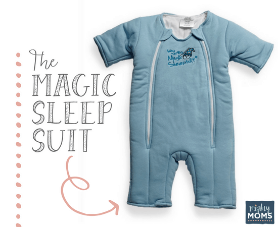 Stop Swaddling with the Magic Sleep Suit - MightyMoms.club