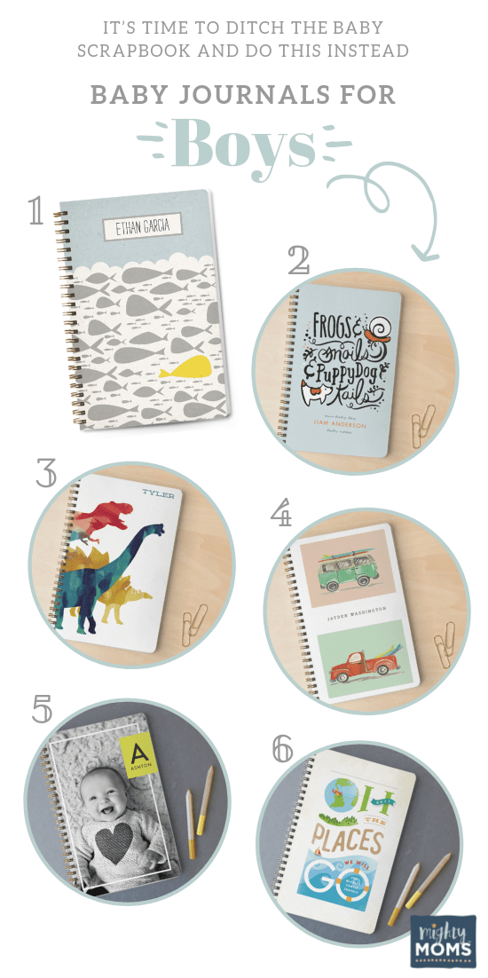 Precious Baby Journals for Boys - MightyMoms.club