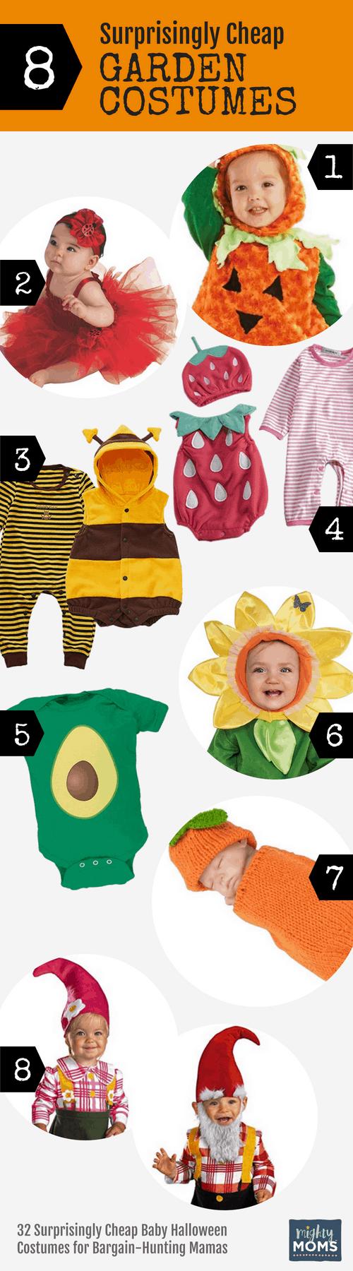 Cheap Garden Baby Halloween Costumes - MightyMoms.club