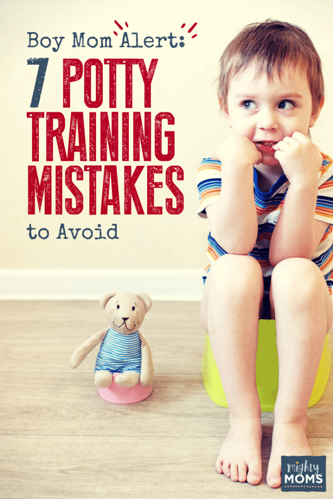 Boy Mom Alert: 7 Potty Training Mistakes to Avoid - MightyMoms.club