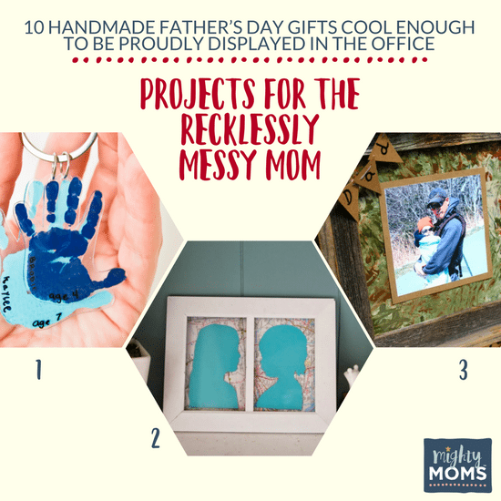 10 Handmade Father's Day Gifts Cool Enough to be Proudly Displayed in the Office - MightMoms.club