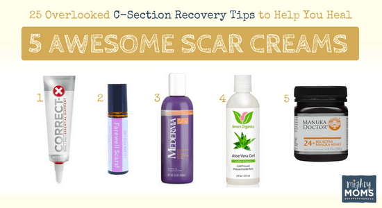 C-Section Recovery Scar Creams That Help - MightyMoms.club