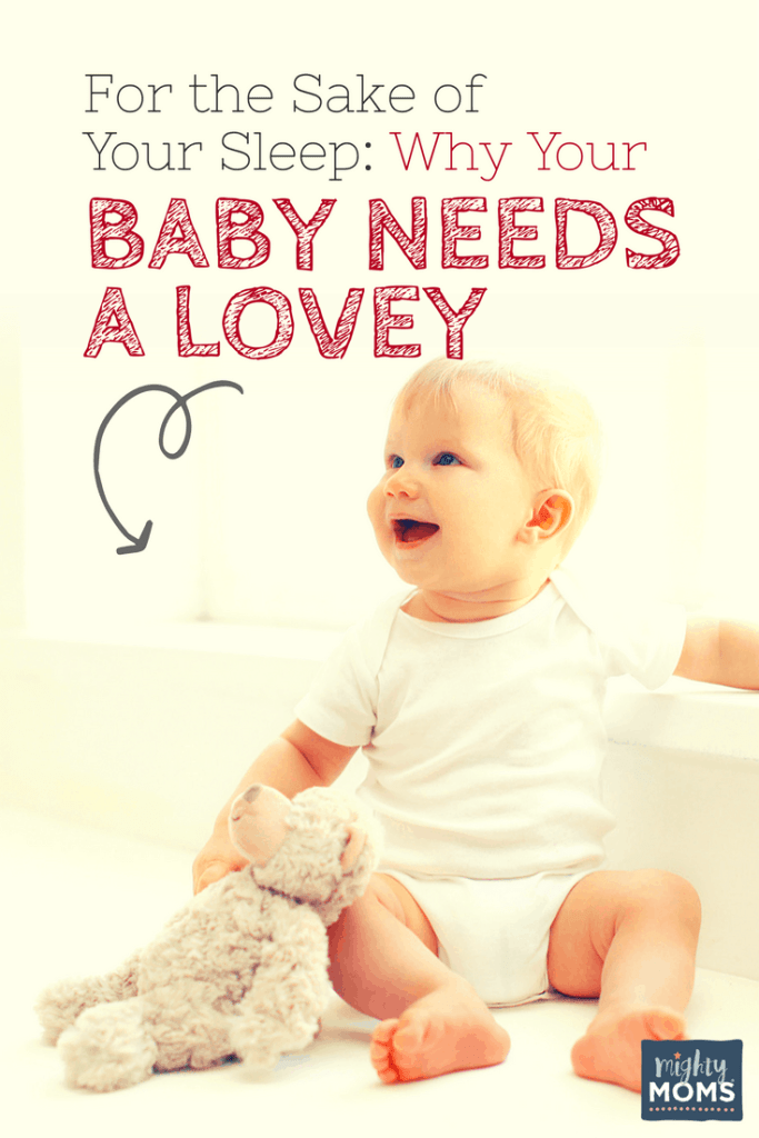 For The Sake Of Your Sleep Why Your Baby Needs A Lovey The Mighty