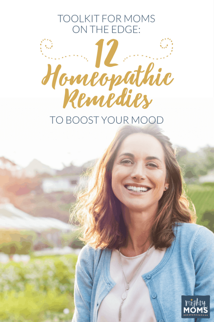 Toolkit for Moms on the Edge: 12 Homeopathic Remedies to Boost Your Mood - MightyMoms.club