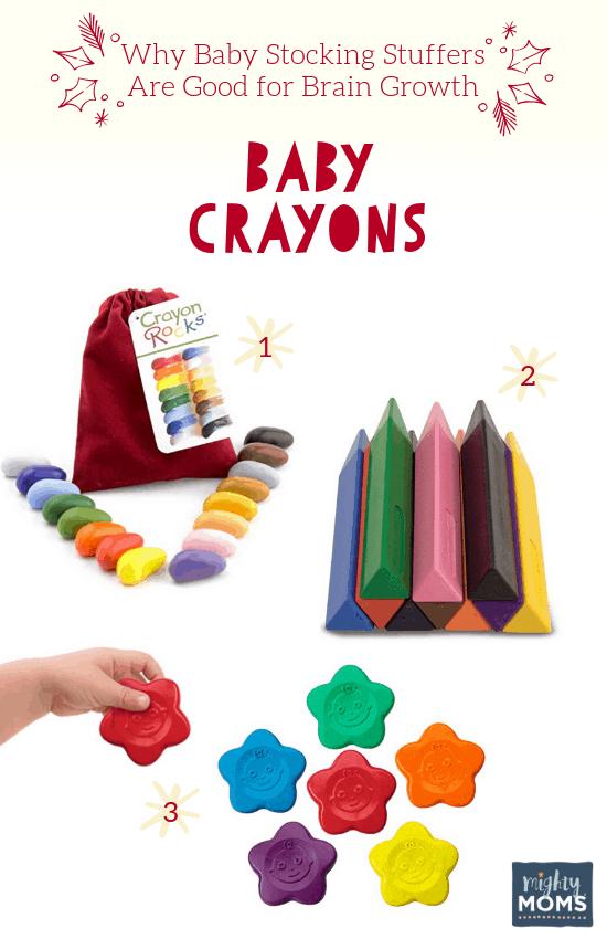 Smart Baby Stocking Stuffers: Baby Crayons - MightyMoms.club