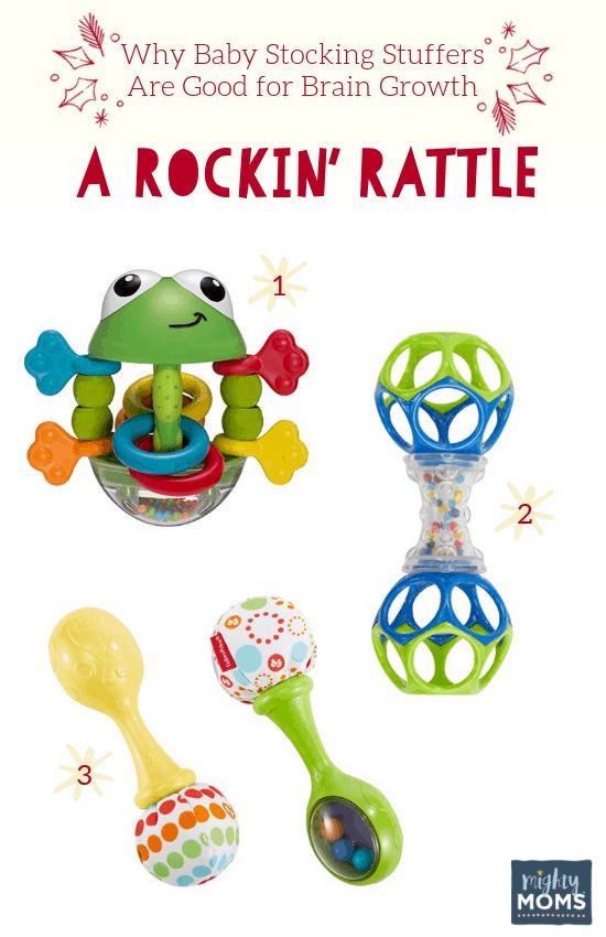 Smart Baby Stocking Stuffers: A Rockin' Rattle - MightyMoms.club