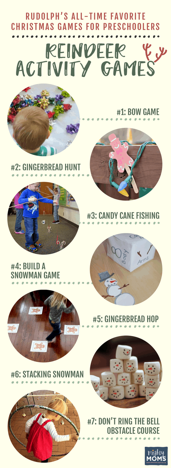 Rudolph's All-Time Favorite Christmas Games for Preschoolers - MightyMoms.club