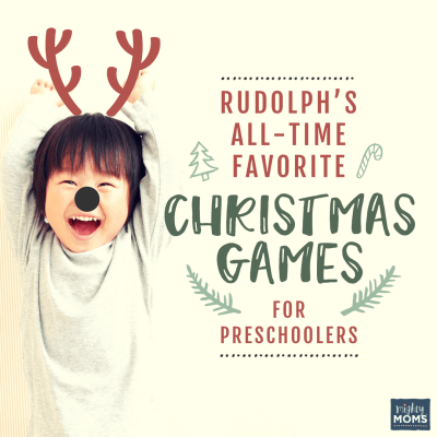 Rudolph's All-Time Favorite Christmas Games for Preschoolers