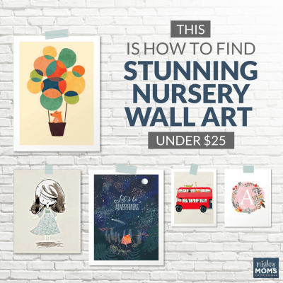 This is How to Find Stunning Nursery Wall Art Under $25