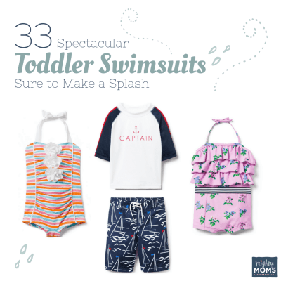 33 Spectacular Toddler Swimsuits Sure to Make a Splash
