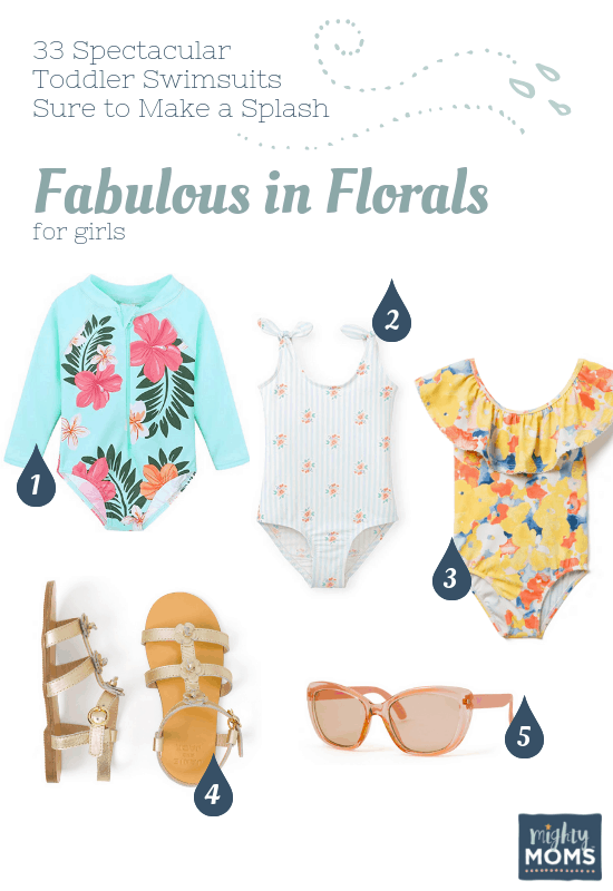 Spectacular Toddler Swimsuits: Fabulous in Florals - MightyMoms.club