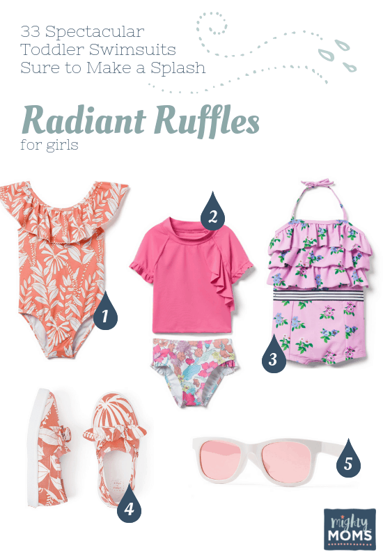 Spectacular Toddler Swimsuits: Radiant Ruffles - MightyMoms.club