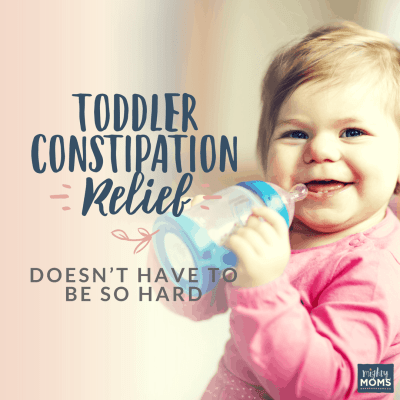 Toddler Constipation Relief Doesn't Have to Be So Hard