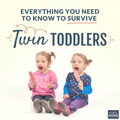 Everything You Need To Know To Survive Twin Toddlers