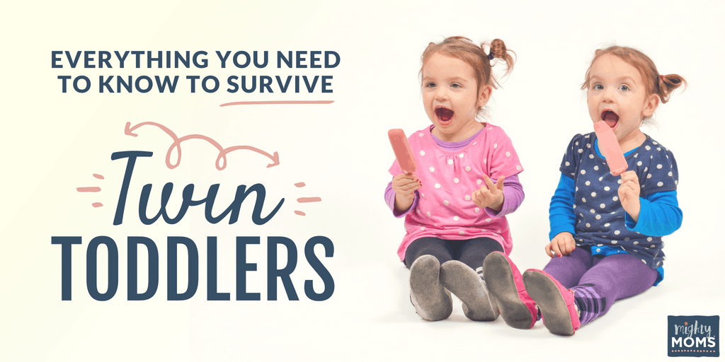 Surviving Twin Toddlers - MightyMoms.club