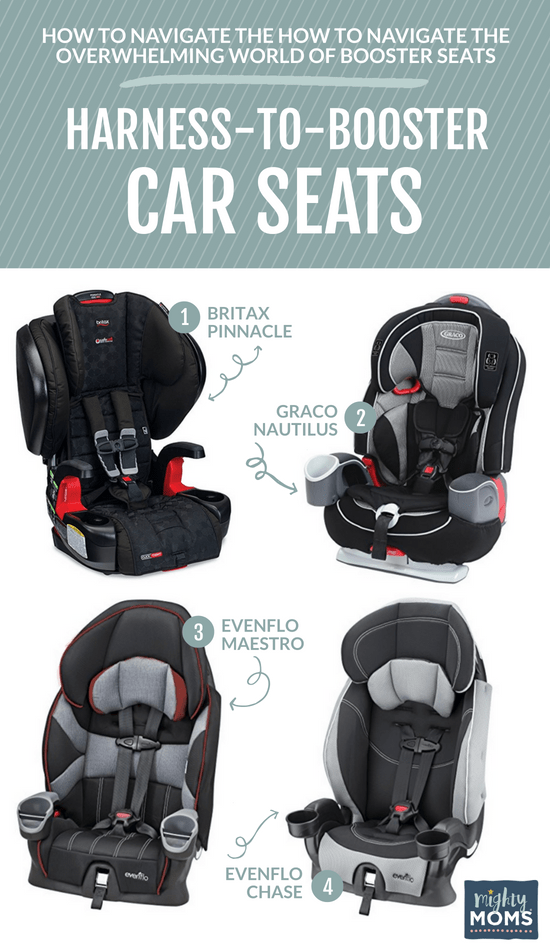 Conversion Booster Seats - MightyMoms.club