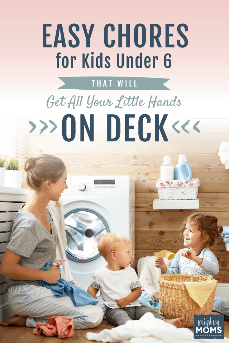 Chores for Kids Under 6 - MightyMoms.club