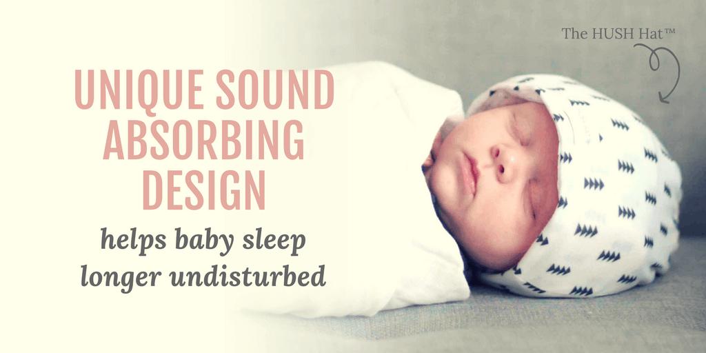 Hush Helps Newborns adjust and nap better