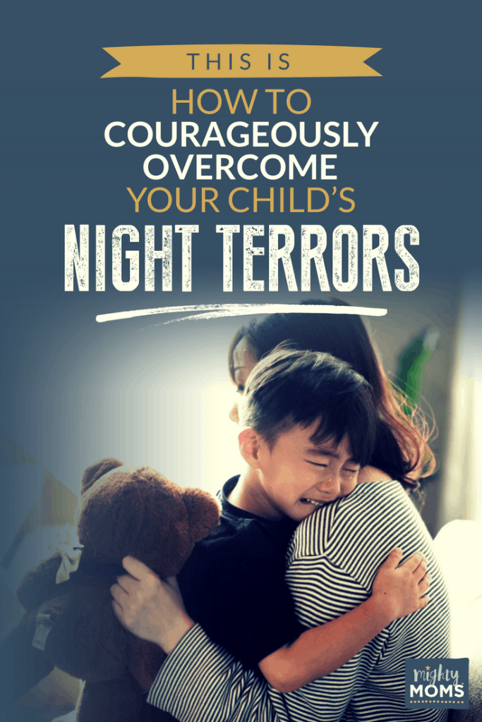 Help your child with night terrors and nightmares