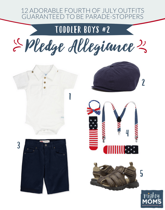Fourth of July Outfits for Toddler Boys #2 - MightyMoms.club