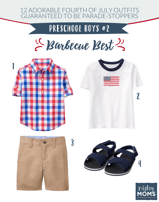 Fourth of July Outfits for Little Boys #2 - MightyMoms.club