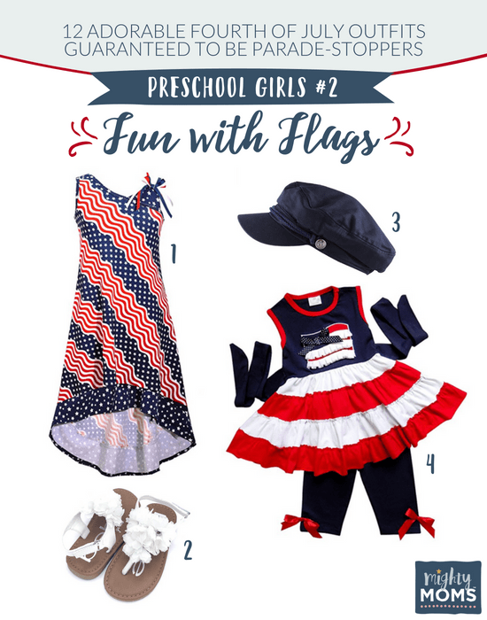 Fourth of July Outfits for Little Girls #2 - MightyMoms.club
