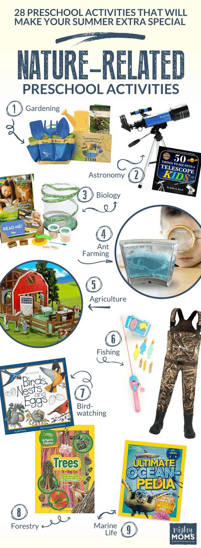 Nature Summer Preschool Activities - MightyMoms.club